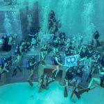 La gioia profonda di quei tredici giovani subacquei con disabilità