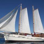 Museo navigante della Marineria in arrivo a bordo della «Oloferne»
