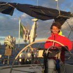 La sfida di Lucio Bellomo tour delle isole del Mediterraneo in barca a zero emissioni.