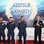 """Alla Guardia Costiera il meritato riconoscimento """"AssoSub Award"""""""