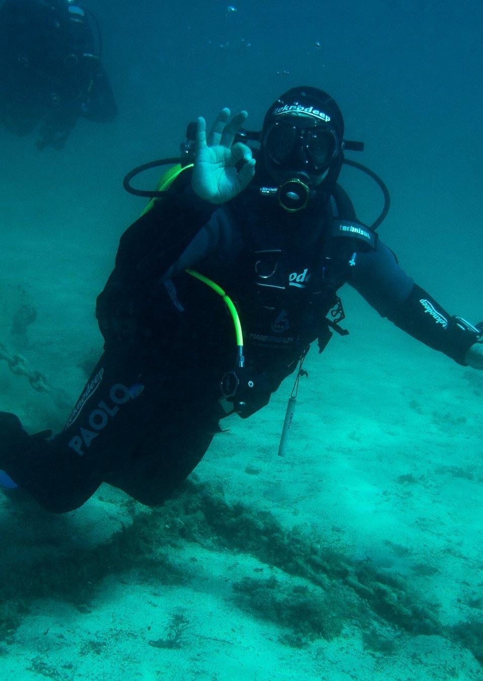 Presto Paolo De Vizzi tenterà di migliorare il record che gli appartiene di permanenza in acqua