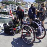 Lungo la rotta di Enzo Maiorca, disabili si immergono nei fondali del Vercece