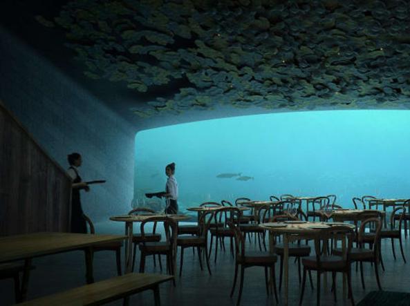 In Norvegia il primo ristorante sottomarino