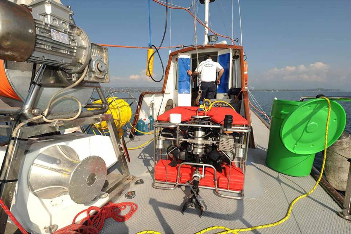 Nelle acque del Garda Ritrovato il corpo di un sub scomparso nel 1992
