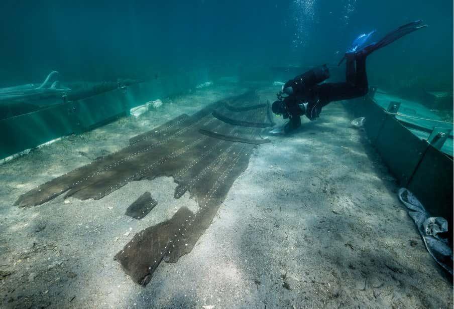 """Al largo della Croazia riemerge la nave dei misteri, l'archeologa: """"Scoperta grazie ai cambiamenti climatici"""""""